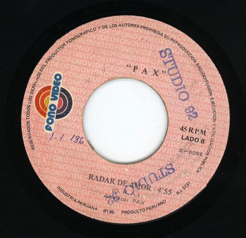 1973-Radar-de-Amor-PAX_2ndLiveRecords