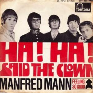 Manfred-Mann-Ha-Ha-Said-The-Clown_2ndLiveRecords