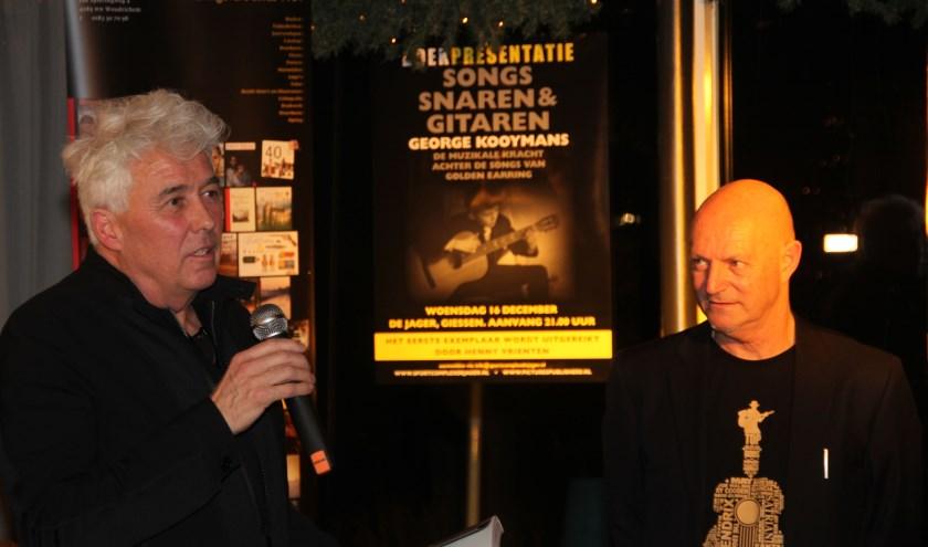 George Kooymans en Henk Schaakxs